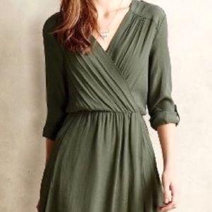 Anthropologie Maeve Shirt Dress